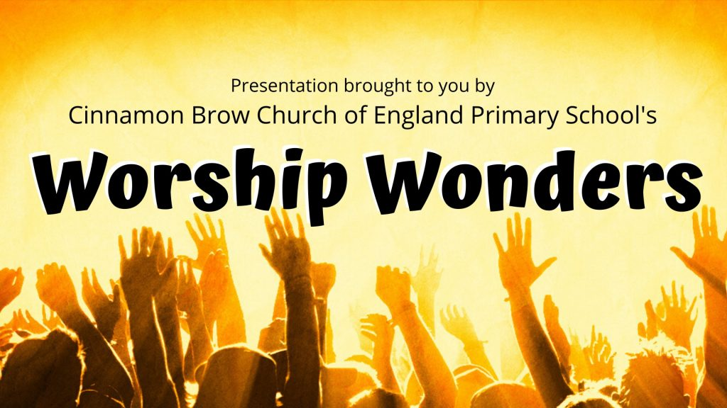Image of a poster for the worship wonders